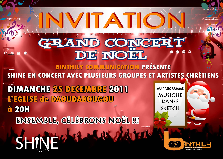 Concert Kaart