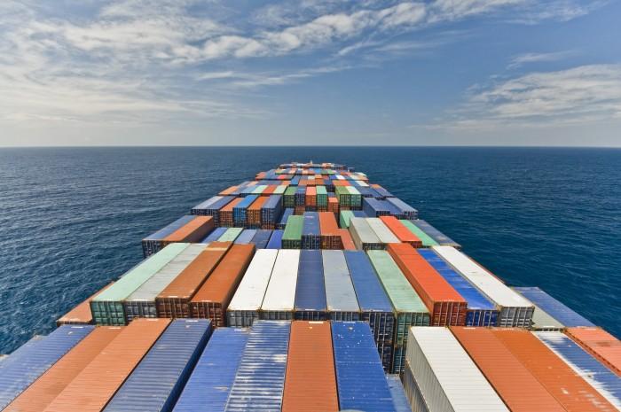 Hulpcontainer start lange Mali reis