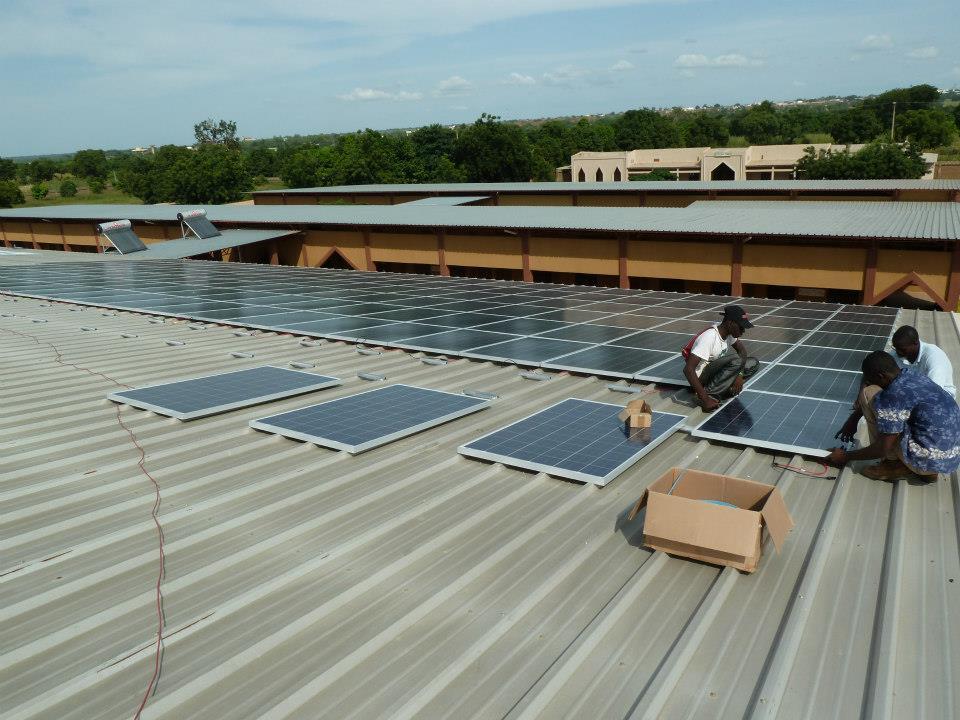 Solar On Koutiala Hospital