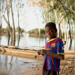 Portrait of a fisher boy Mali