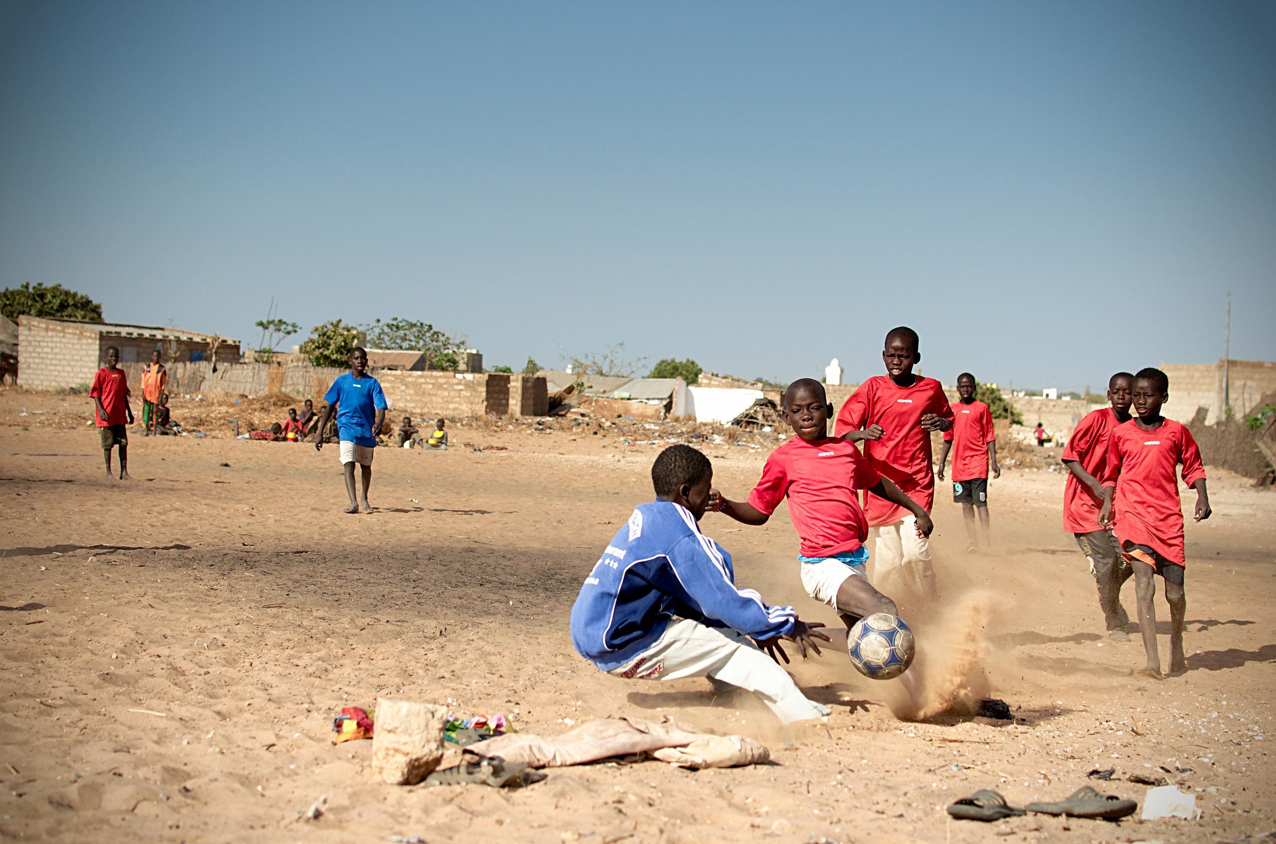 No Letting Down Senegal