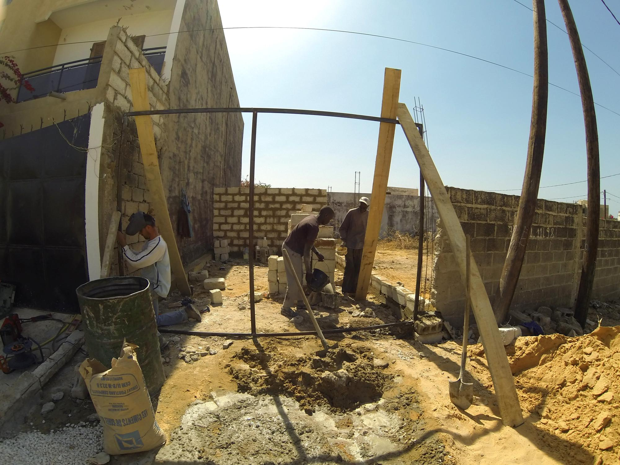 Aanbouw Garage