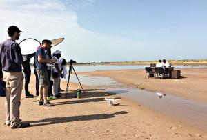 Drone beelden in videoclip