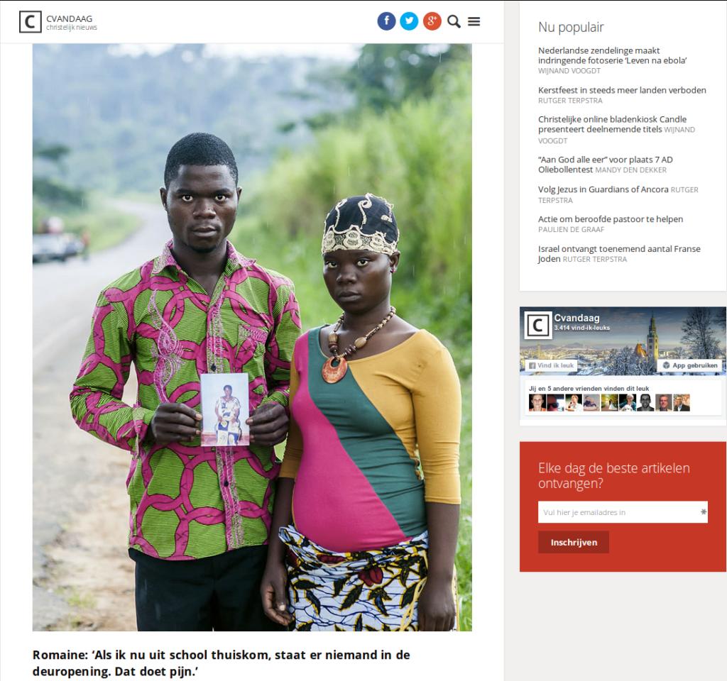 Leven na Ebola / portret