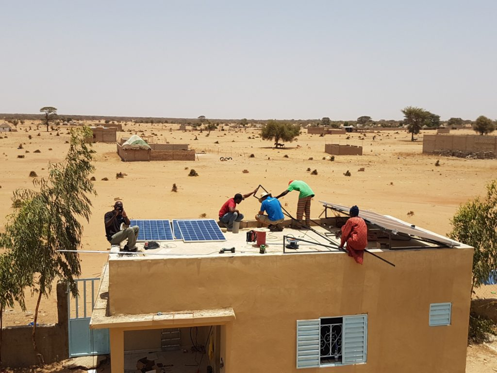 Solar for clinic