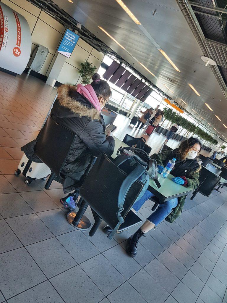Allemaal geannuleerde vluchten op Schiphol