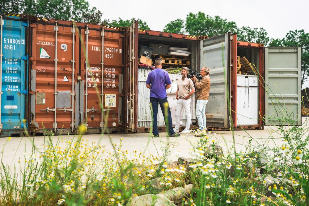 Zonnepanelen In Storage
